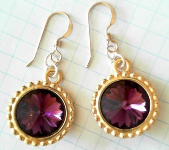 $35 golden amethyst (gold-plated)